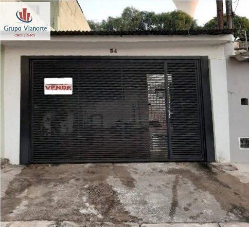 Casa A Venda No Bairro Vila Nova Cachoeirinha Em São Paulo - P0120-1