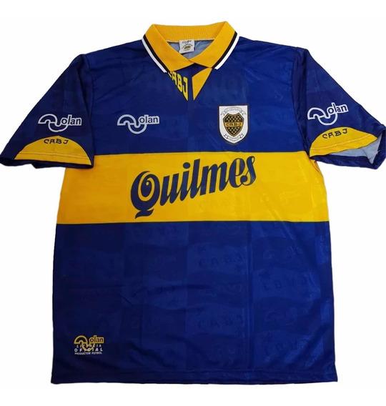 Camiseta Original Olan Boca Número Felpa Maradona