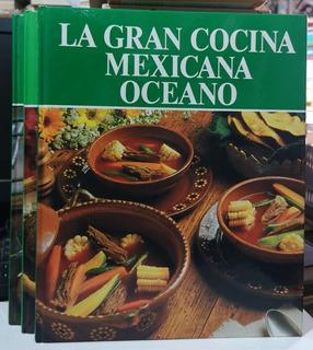 La Gran Cocina Mexicana Océano 3 Vols Con Muy Buenas Recetas
