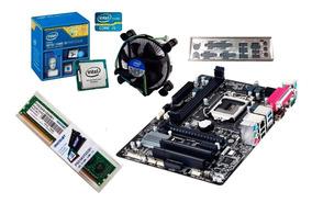 Kit Processador I5 4460 3.2ghz + Placa Ga-h81m-s2ph + 4gb