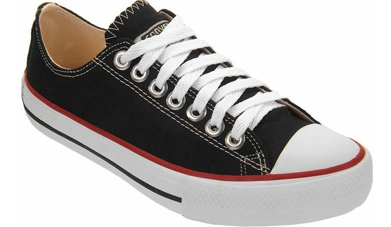 Tenis All Star Ct Lona Tradicional Escolar Unissex 10 % Off