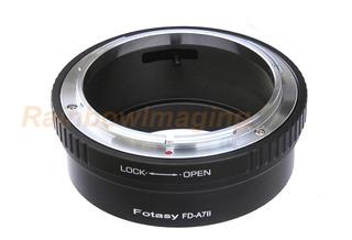 Lentes De Fl Canon Fd A Sony A7ii, A7m2, A7s, A7r Ii, Adapta