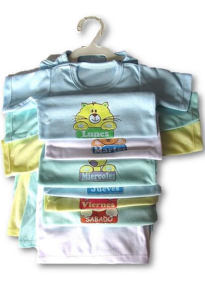 Semanario 14 Piezas Para Niño/niña Multicolor 0-3 Meses Bebe