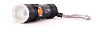 Linterna Led Táctica Recargable Usb - Tedge