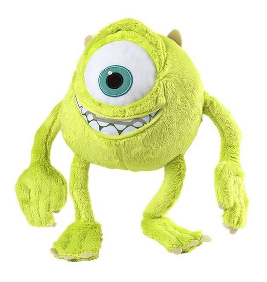 Pelúcia Com Som Personagens Disney Mike Wazowski 30cm