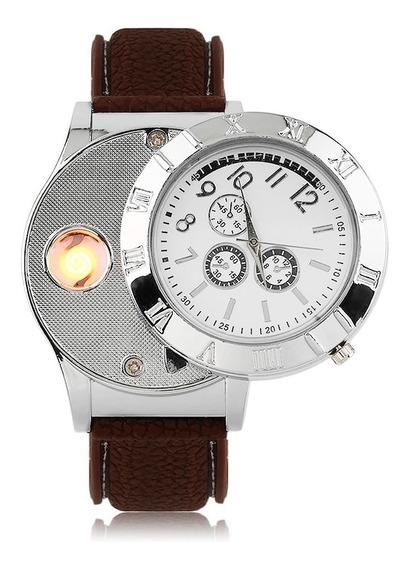 Reloj Encendedor Electronico Recargable Usb Con Sensor