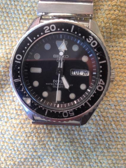 Relógio Seiko Diver 150m Maquina Trocada