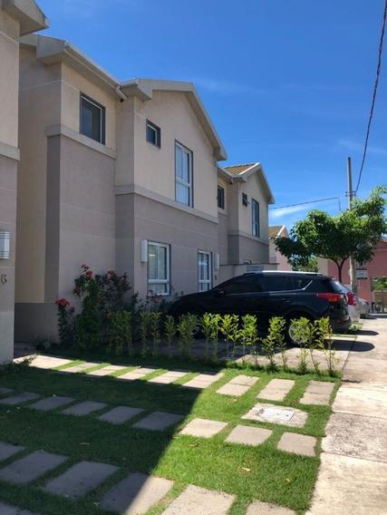 Casa Em Manguinhos, Condomínio Aldeia De Manguinhos, 4 Quartos,sendo 1 Suite. Um Dos Quartos Foi Utilizado Para Ampliar A Sala. 145m² Á 300 Metros Da Praia, Com Áre De Lazer Comple - Ca00211 - 323158
