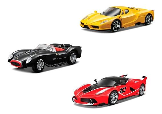 Clarín Colección Ferrari Gt Set 1 De 3 Autos