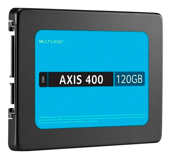 Ssd Multilaser Ss101bu Axis 400 Mb/s 2,5p 120gb Preto