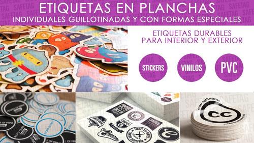 Etiquetas Golosinas Candy Bar Cumpleaños Souvenirs Frascos Troquelados Especiales Formas Resistentes Agua Diseños Calcos
