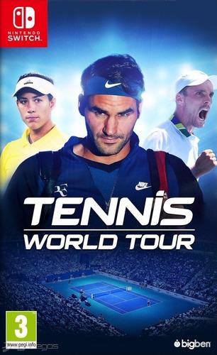 Imagen 1 de 3 de Tennis World Tour Nintendo Switch Fisico Sellado Ade