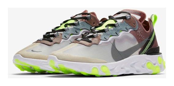 Tenis Nike Element React 87 Desert Sand Casual Yeezy Boost