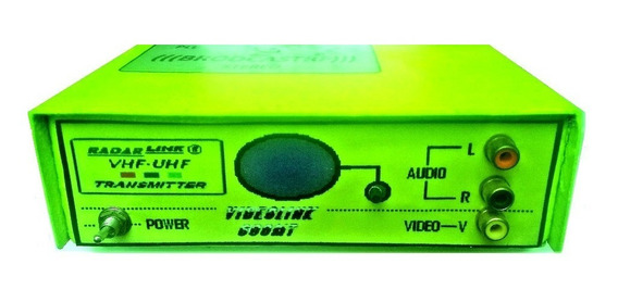 Transmissor Tv Vhf-uhf,banda Larga Videolink 600