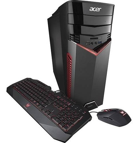Gamer Acer Gx-783-br13 Core I7 6gb Vd16 Gb Ram + Monitor 24