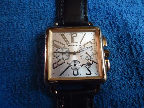 Pierre Cardin Reloj Con Cronometro Vintage Retro