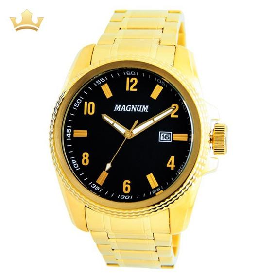 Relógio Magnum Masculino Ma34996u Com Nf