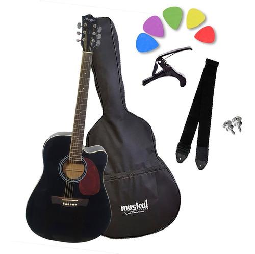 Violão Eletroacustico Tagima Memphis Md-18 + Kit Completo