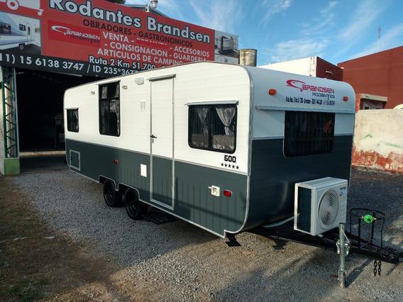 Casa Rodante Brandsen 6,00 Mts D/ Eje Full 0km