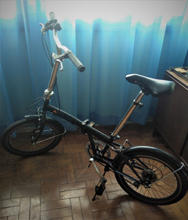 Bicicleta Dobrável Ozark Trail 6 Marchas Preta