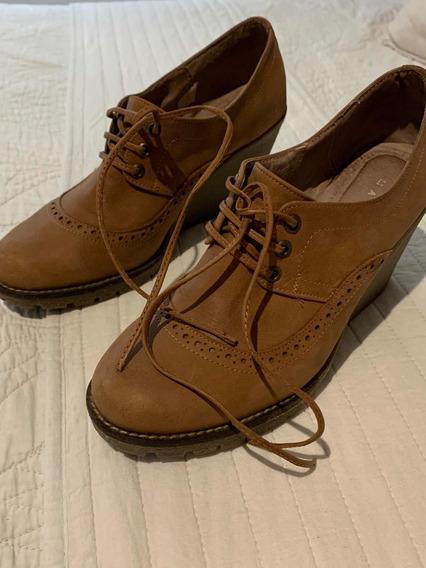 Zapatos Cuero Divinos 38