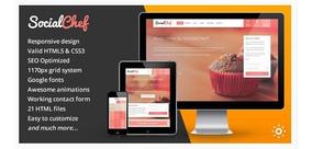 Site Rede Social De Receitas Tema Wordpress