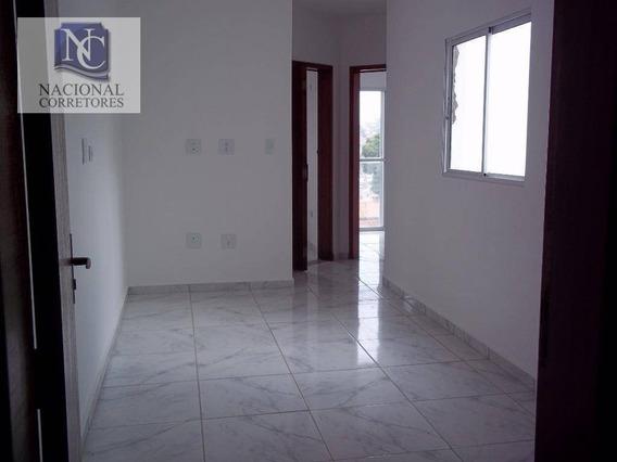 Cobertura Com 2 Dormitórios À Venda, 80 M² Por R$ 240.000,00 - Jardim Utinga - Santo André/sp - Co0988