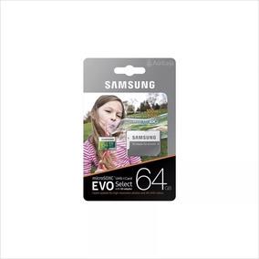 Cartão De Memória Samsung Evo Select 64gb U3 E 4k Original