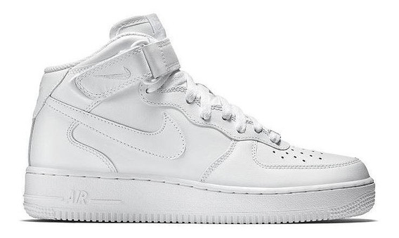 Tênis Nike Air Force 1 Mid 07 Unissex Branco Original
