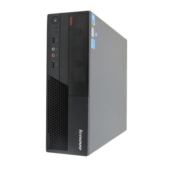 Maquina Cpu Lenovo Ddr3 Core 2 Duo 2gb Hd160 Wifi Windows 7