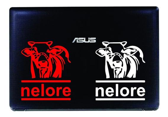 Adesivo Carro Notbook Tablet Boi Gado Nelore Cowboy - Leve 2