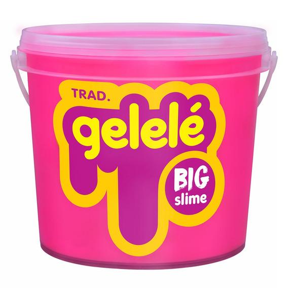 Balde De Slime - 1,5 Kg - Gelele - Big Slime - Cores Tradici