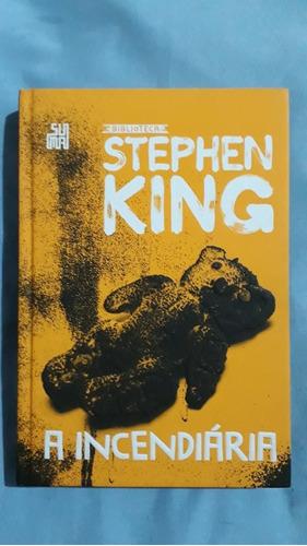 Livro A Incendiária Biblioteca Stephen King Vl64