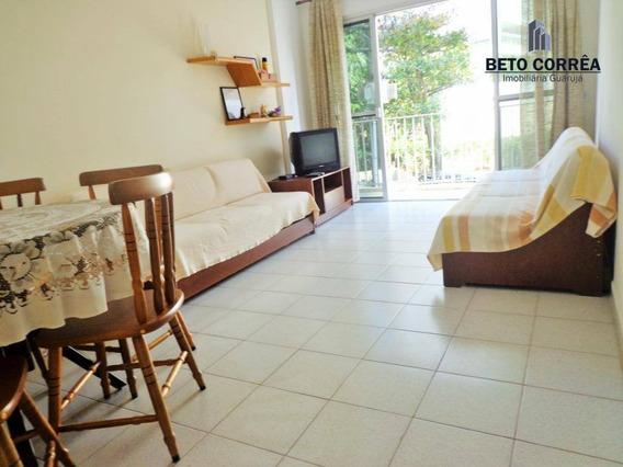Guarujá, Enseada Excelente Apartamento Próximo A Praia, Com Espetacular Área Gourmet Com Churrasqueira E Forno De Pizza - Ap0326