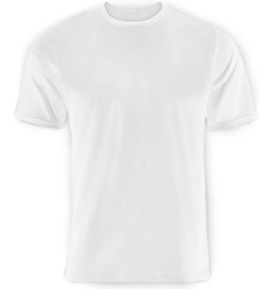 Lote 30 Camisetas Branca Lisa Poliester Importado Camiseta Sublimação