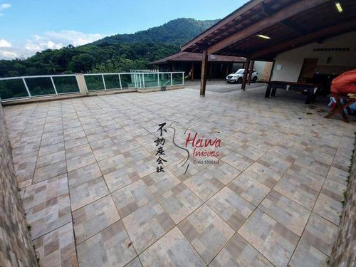 Imagem 1 de 30 de Casa Com 4 Dormitórios À Venda, 300 M² Por R$ 490.000 - Perequê-açu - Ubatuba/sp - Ca1252