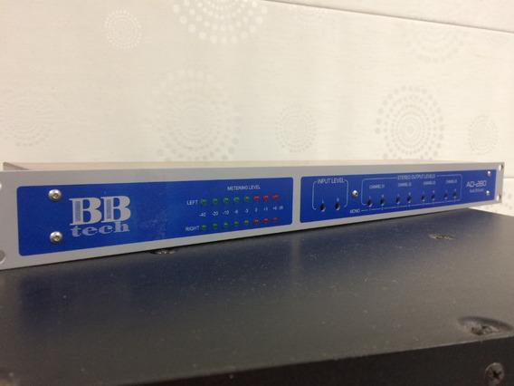 Distribuidor De Áudio Profissional Bbtech Ad-280
