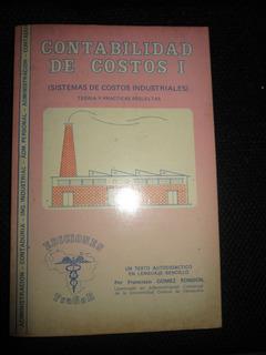 Contabilidad De Costos 1 De Francisco Gomez Rondon