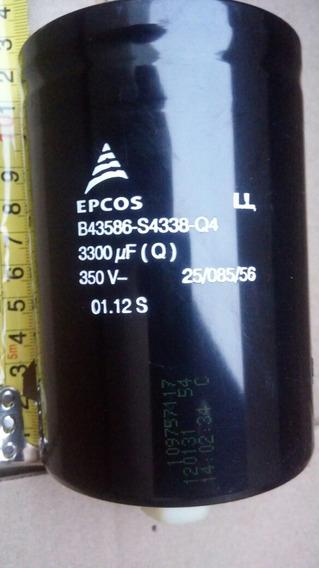Capacitor B43586-s4338-q4 Epcos 330uf 350vdc