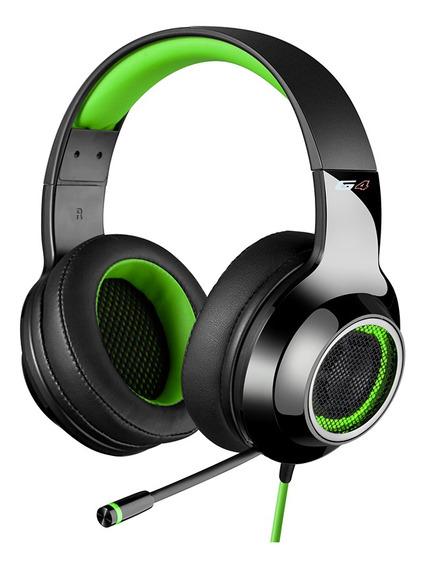 Headset Gamer 7.1 Edifier G4 Over-ear - Preto-verde