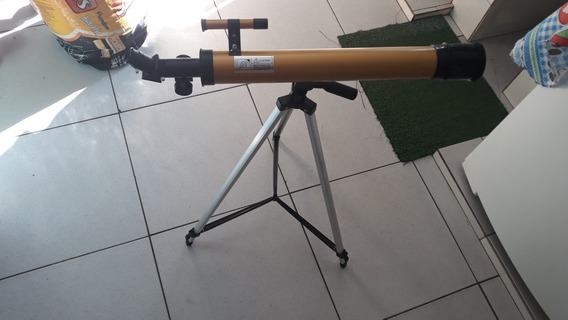 Telescopio Astronomico Refrator Até 100x