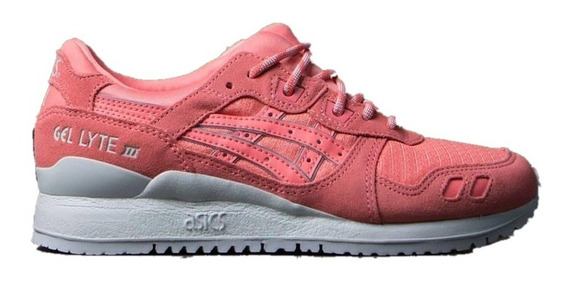 Tenis Asics Tiger Mujer Durazno Gel Lyte Iii H7m5l7676