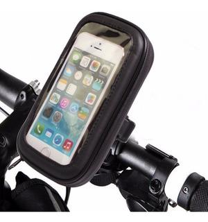 Porta Celular Moto Gps Funda Pantalla Tactil Motoscba