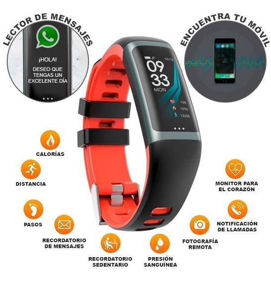 Pulsera Inteligente Smartwatch Hombre Y Mujer Deportivo