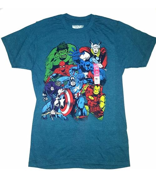 Remera Marvel Comics Original Talle Xxl Importada Nueva!