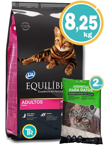 Comida Equilibrio Gatos Adultos 7,5kg + Regalo Y E Gratis