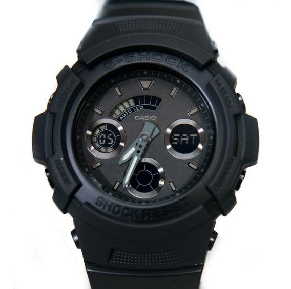 Relógio G-shock Aw-591bb Preto Original Caixa Pequena Aw591