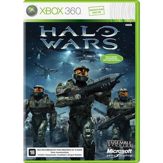 Game Xbox 360 Halo Wars - Original - Novo - Lacrado