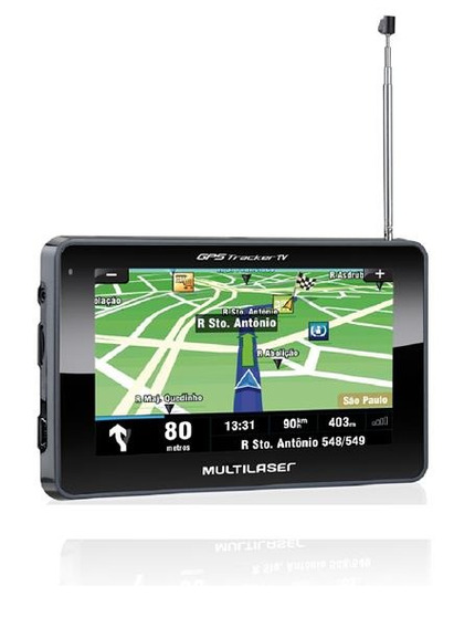 Navegador Gps Tela 4.3 Preto Tv/radio Multilaser - Gp034