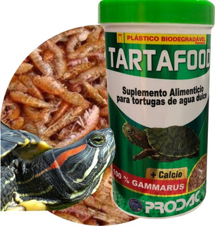 Prodac Suplemento Gammarus + Calcio Tartafood 31g Tortugas Agua Dulce